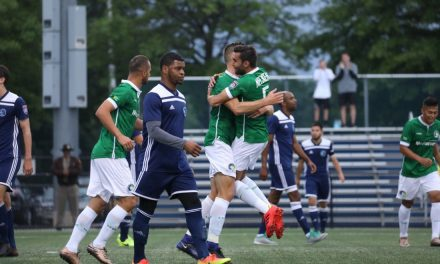 THE CLINCHER: Cosmos B qualifies for NPSL playoffs with 5-0 win