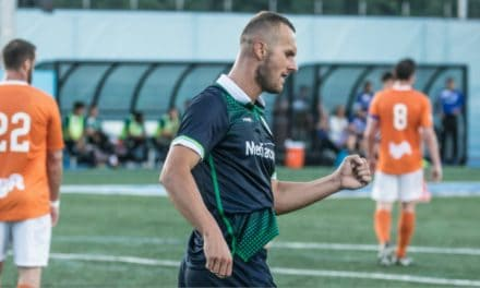 BRACE BY BARDIC: Forward's goals pace Cosmos to 5-0 win