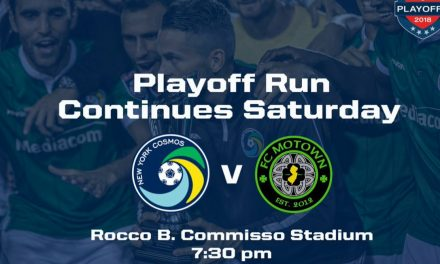 CLASH OF THE TITANS: Cosmos B, FC Motown to battle for a chance in NPSL final four
