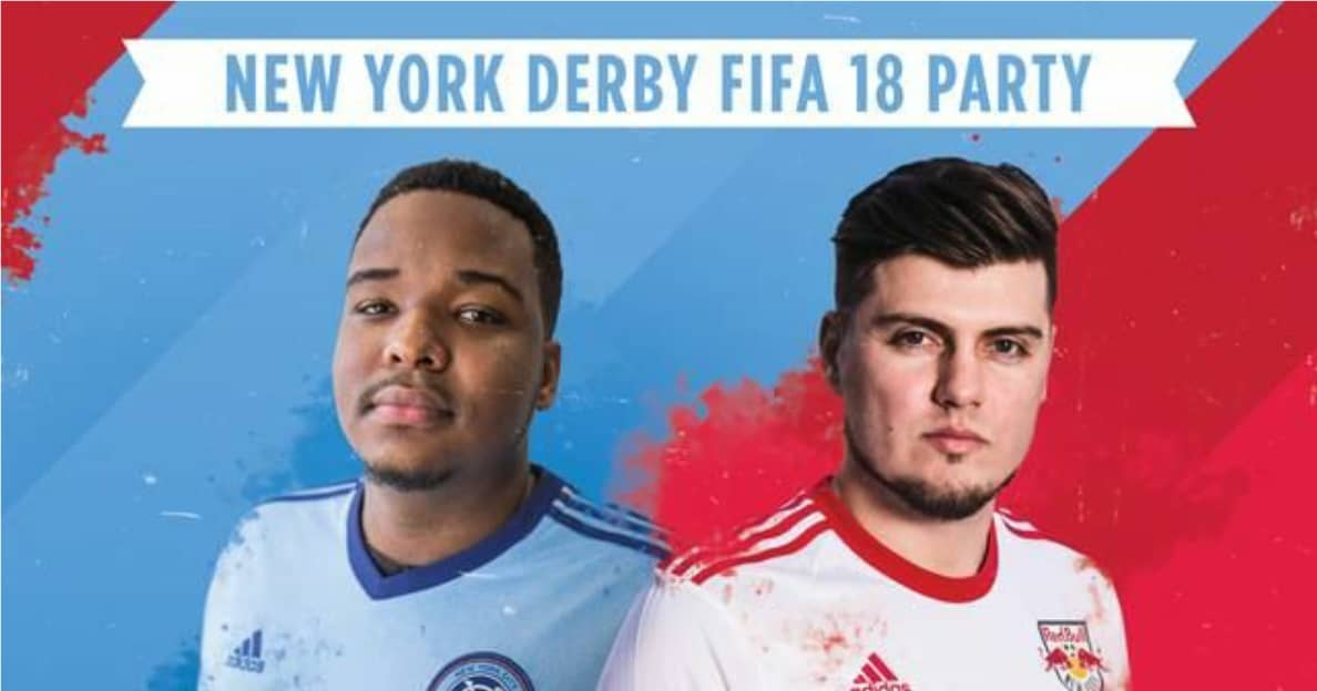 OFF THE PITCH DERBY: Red Bulls, NYCFC gamers to face off in Brooklyn Thursday