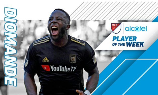 MLS HONORS: LAFC's Diomande named player of the week