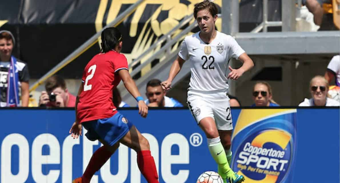 SITTING THIS ONE OUT:  NWSL suspends, fines Klingenberg