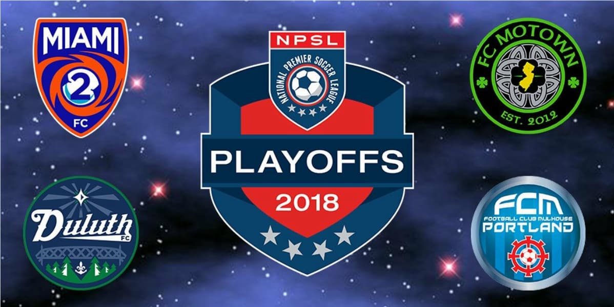 SEMIFINAL SATURDAY: A quick look at the NPSL's final four teams
