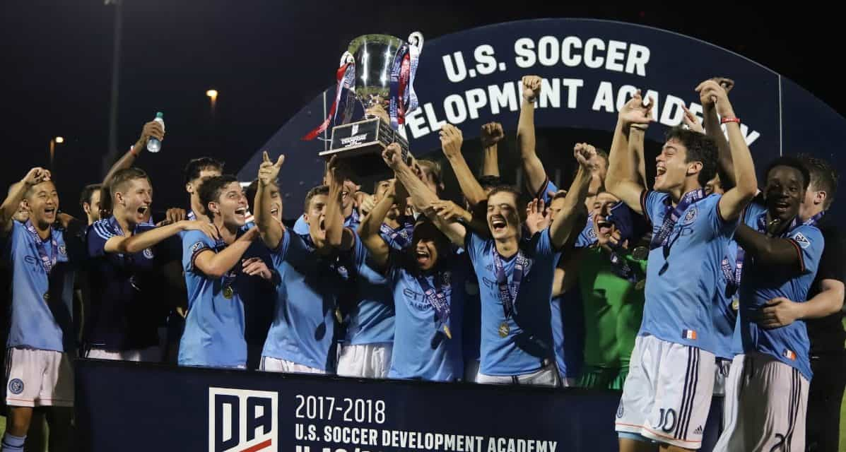 NATIONAL CHAMPS: NYCFC U-19 Boys capture USSDA title