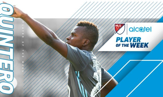 HAT-TRICK HERO HONORED: MLS names Minnesota's Quintero player of the week