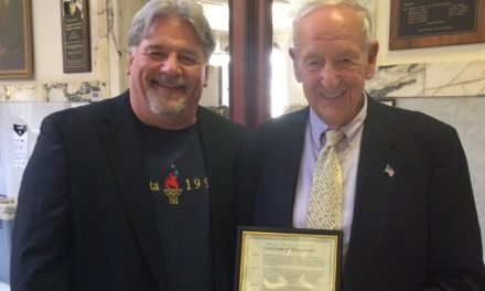 COUNTY HONORS: Monroe County fetes Schiano with Certificate of Recognition
