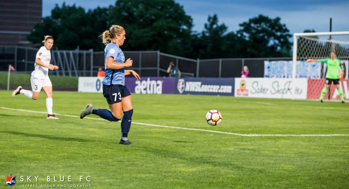 IF AT FIRST YOU DON'T SUCCEED: Reeling Sky Blue FC again will vie for 1st win