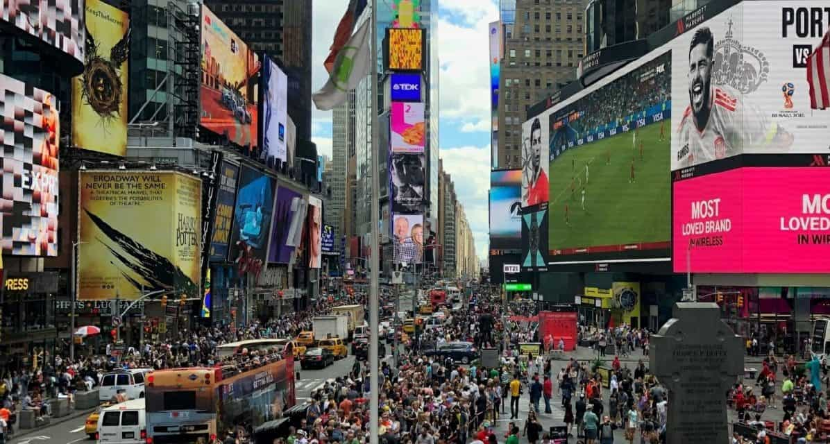 ON THE 'MEGA-ZILLA': FOX to broadcast France-Belgium in Times Square