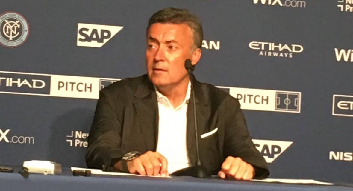 MEET THE PRESS: NYCFC's Torrent on the tie with Toronto