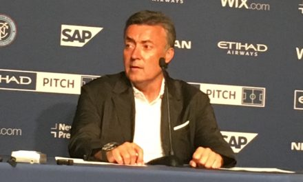 MEET THE PRESS: Torrent on NYCFC's road tie
