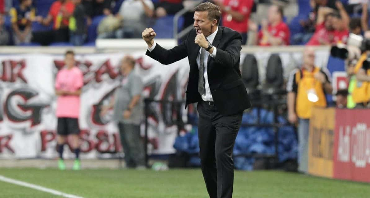 HE'S AN ASSISTANT COACH FOR NOW: Marsch will be Rangnick's top lieutenant at RB Leipzig