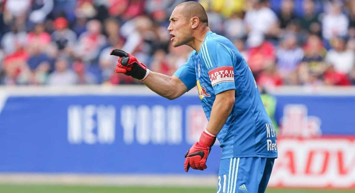 THE VERY GOOD HANDS MAN: Robles outstanding as Red Bulls blank Reds