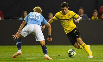 MAKING THEM PAY THE PENALTY: Pulisic sets up lone goal, a PK, in Dortmund win