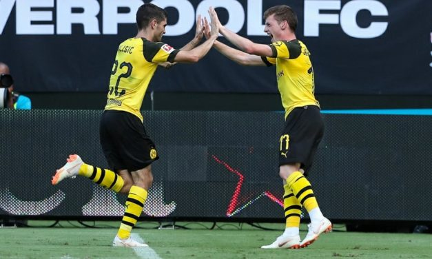 A DOMINATING PERFORMANCE: 2 goals, 1 assist for Pulisic in ICC win