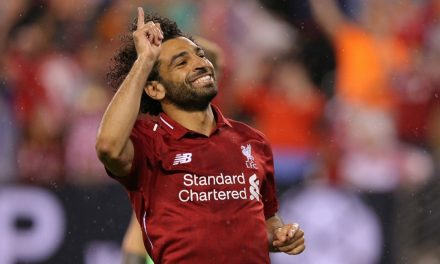 BETTER LATE THAN NEVER: PK lifts Liverpool over Man City