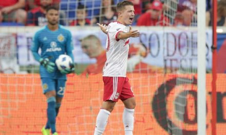 TOO DEEP A HOLE: Red Bulls can't overcome 3-goal deficit, fall to Columbus at home