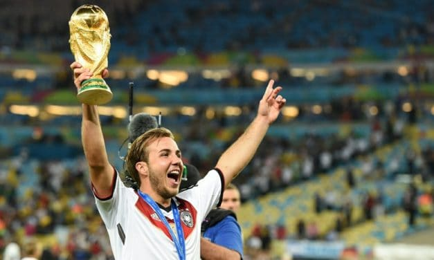 SOCCER'S HOLY GRAIL: World Cup trophy is the sport's ultimate prize