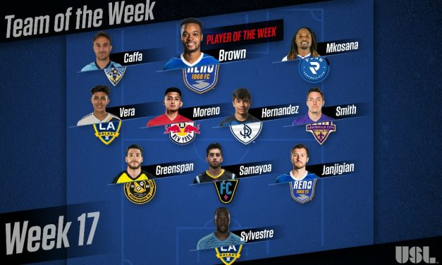 LEAGUE HONORS: USL names Reno 1868 FC's Brown player of week