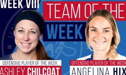 LEAGUE HONORS: UWS names Inferno Rush's Chilcoat defensive player of the week
