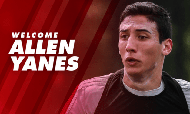 ALLEN'S NEW TOWN: Red Bull II signs defender Yanes