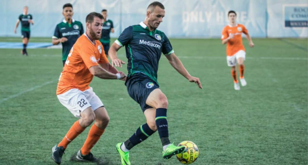 BLEDI'S BACK: Team-leading goal-scorer Bardic signs with Cosmos