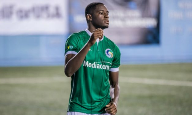 FROM A SUB TO A DESTROYER: Bartley's brace lifts Cosmos B over FC Frederick in Northeast semis, 2-0