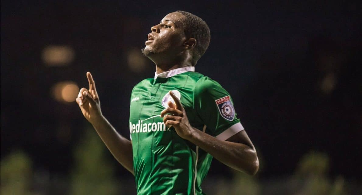 SOARING TO THE OCCASION: Bartley kicks Cosmos B forward in the playoffs
