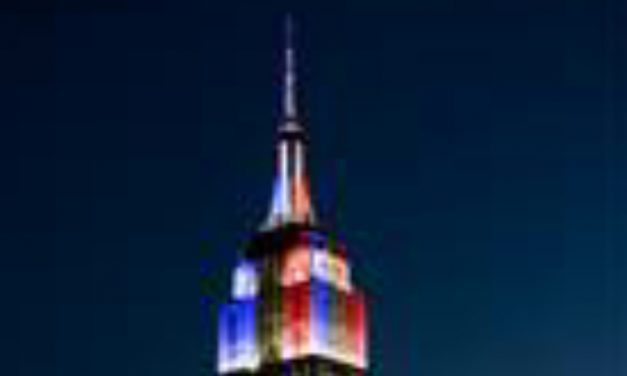 SALUTING FRANCE: Empire State Building to celebrate French WC champions