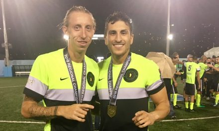 A STUDENT OF THE GAME AND MEDICINE: Nasr helps shore up FC Motown defense while pursuing medical degree