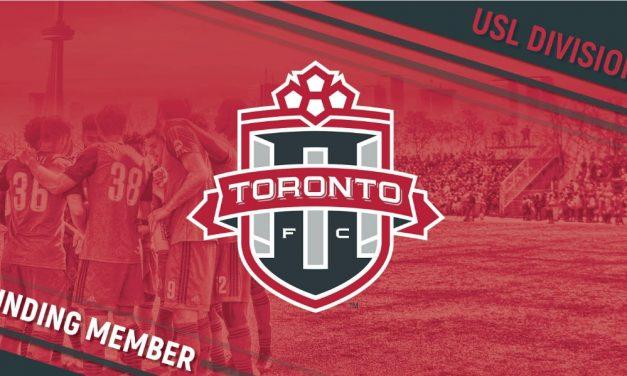 WELCOME ABOARD: Toronto FC II joins USL D-III as founding member