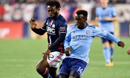 MIXED EMOTIONS: NYCFC's Awuah makes 1st MLS start in loss