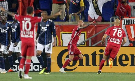 NO PLACE LIKE HOME: Red Bulls blank Revs, 2-0