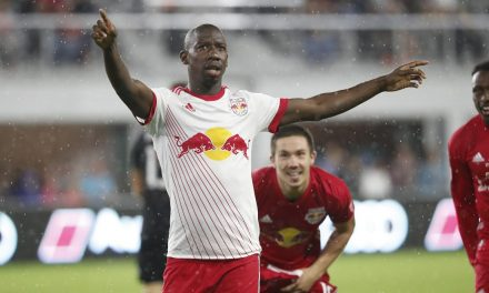 POST-MATCH CEREMONY: Red Bulls to commemorate BWP's 100th goal Sunday
