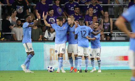 BACK IN SECOND: NYCFC blanks Orlando, moves past Red Bulls