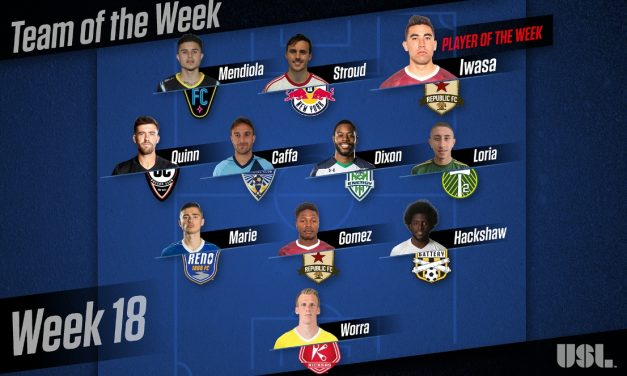 USL HONORS: Sacramento's Iwasa named player of the week
