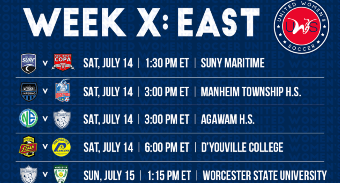 UP FOR GRABS: 5 teams battling for spot in UWS East championship game