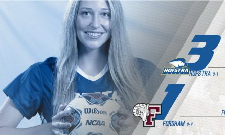 BRACE FOR IT: Buoncore's 2 goals pace Hofstra women over Fordham