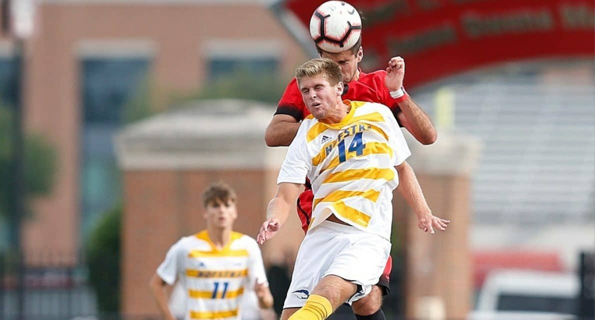 CAN'T HOLD A LATE LEAD: Hofstra men settle for 2-2 draw in season opener