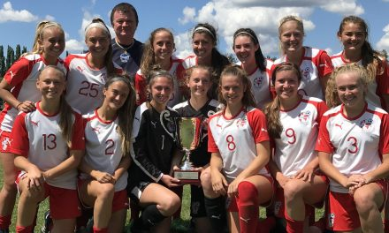 A SWEET 16 WIN: Internationals SC U-16 Girls win ECNL North American Cup