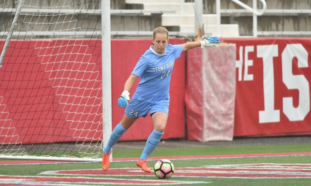 KEEPING IT CLEAN ON THE ROAD: Freshman's goal lifts Stony Brook women over Seton Hall, 1-0