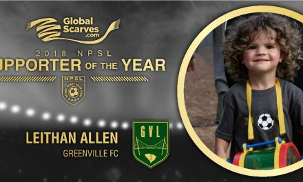 SOME YOUNG IDEAS: Greenville FC youth named NPSL supporter of the year