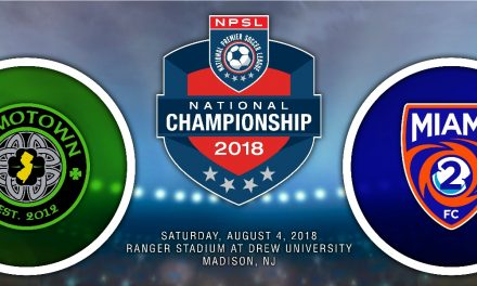 FOR ALL THE MARBLES: FC Motown hosts Miami FC 2 for NPSL title Saturday