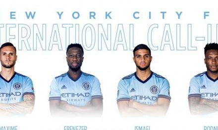GETTING THE CALL: NYCFC's Chanot, Ofori, Tajouri-Shradi, Wallace to go on international duty