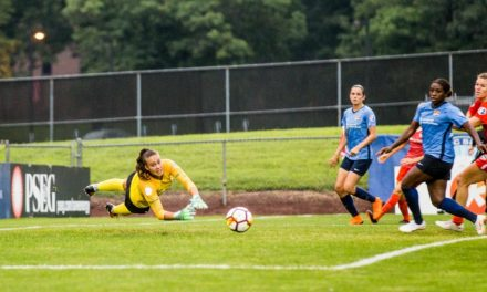 ANOTHER GAME, ANOTHER LOSS: Winless Sky Blue FC (0-14-4) fall to Dash on Daly's 2 goals