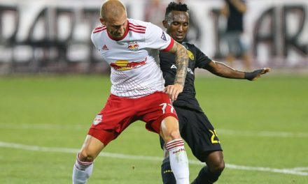 DOUBLING HIS PLEASURE: Royer's brace boosts Red Bulls over LAFC