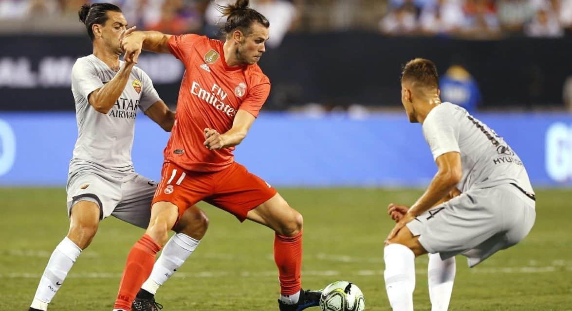 A REAL WIN: Real Madrid stops Roma at MetLife, 2-1