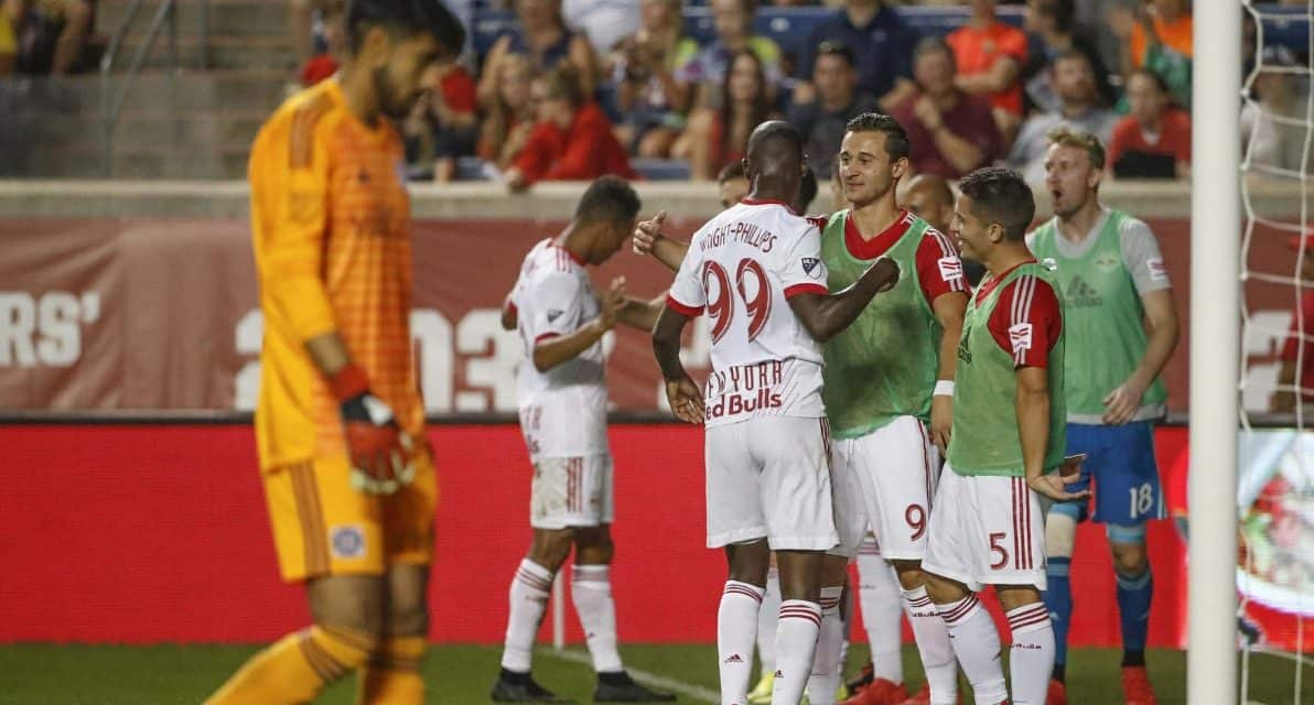 ONE IS ENOUGH: Red Bulls edge Fire, move within a point of idle Atlanta