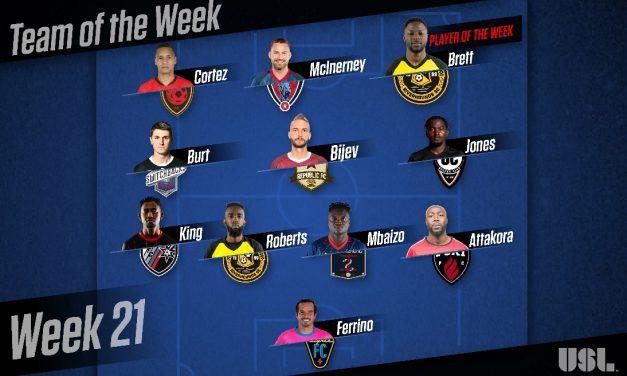 USL HONORS: Riverhounds' Brett named player of the week