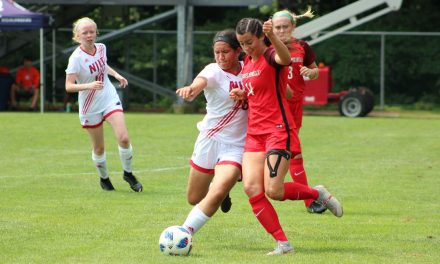 THE WRIGHT STUFF: Freshman strikes twice to power NJIT women