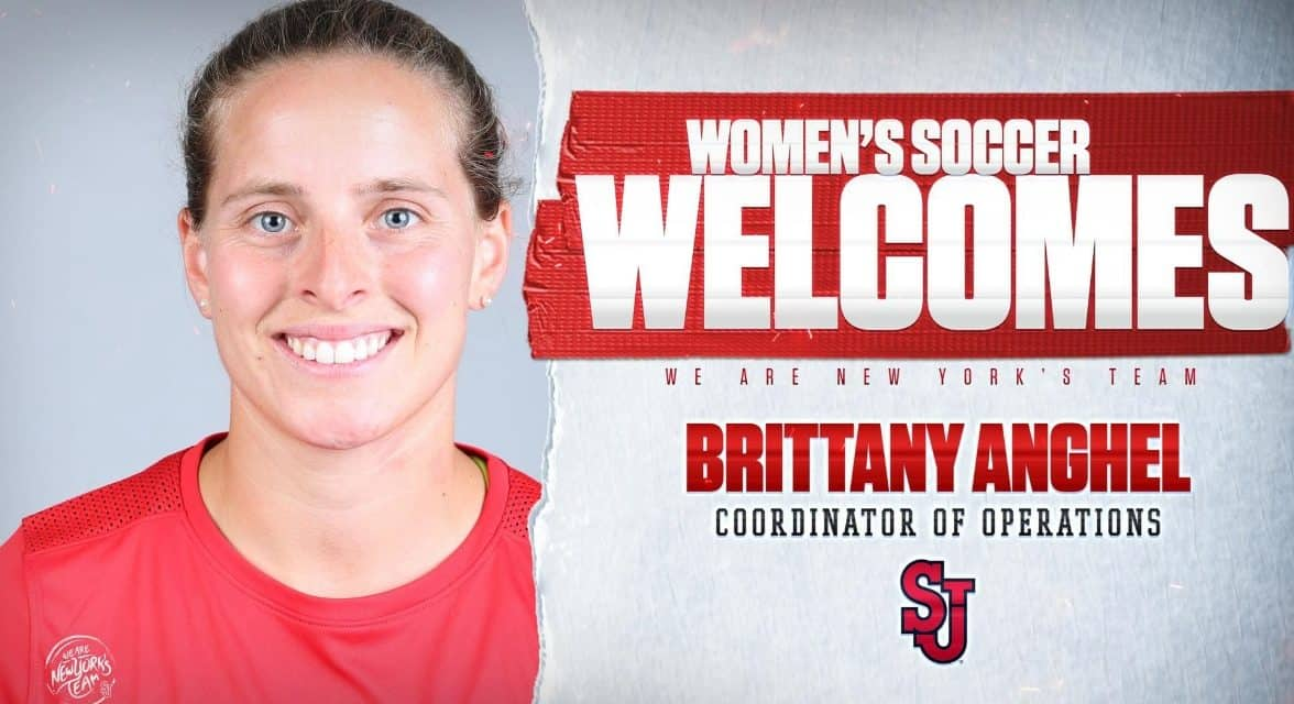 A HELPING HAND: Anghel named St. John's women's coordinator of operations
